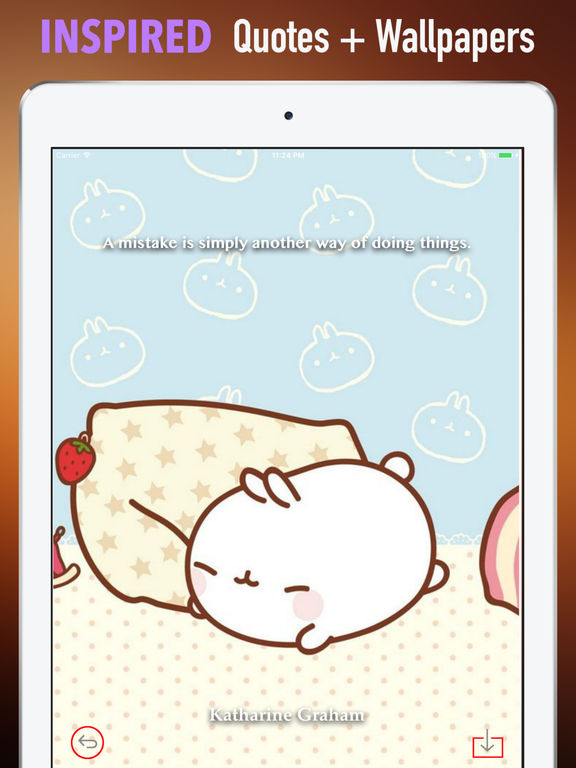 HD Wallpapers for Molang-Art pictures screenshot 10
