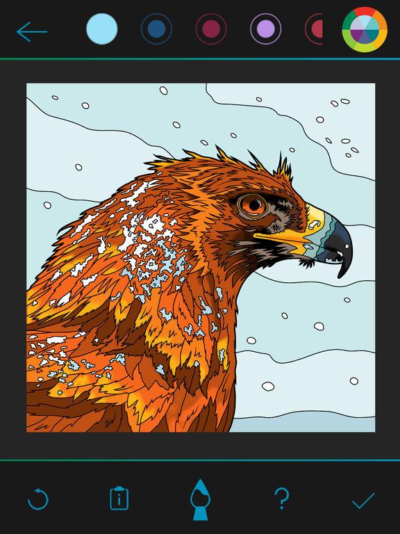 BBC Earth Colouring screenshot 7