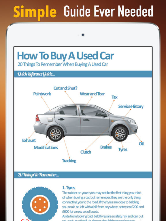 Used Cars:Traffic and Buying Guide screenshot 7