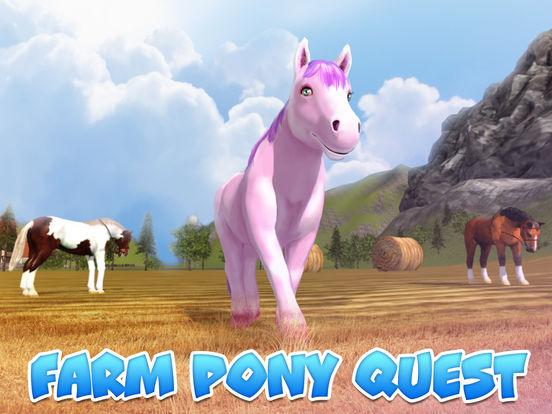 Farm Pony Simulator: Animal Quest 3D screenshot 5