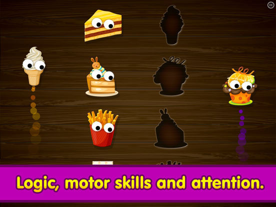 Kids Food Games: Toddlers, Boys Girls Puzzle Free screenshot 6