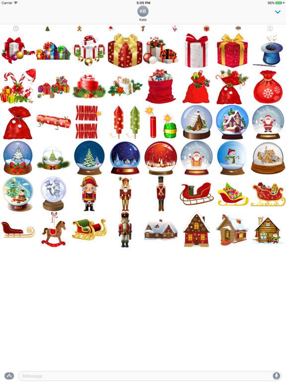 400+ Christmas Stickers screenshot 8