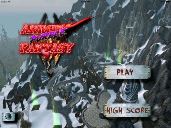 Arrow Purple Fantasy - Best Archery Tournament Game screenshot 6