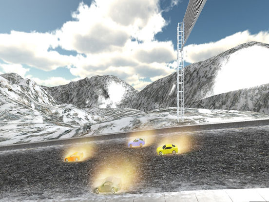 Real Snow Drifting Racer : 3D Hill Fast Drive screenshot 8