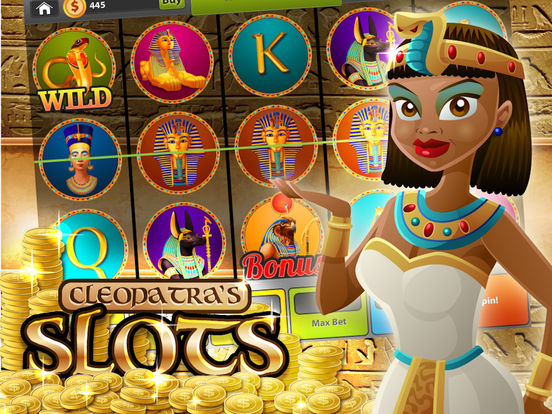 Cleopatra's Lucky Slots - Mega Gold Pyramid Casino screenshot 9