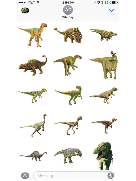 Dinosaur Stickers from Smithsonian Institution screenshot 6