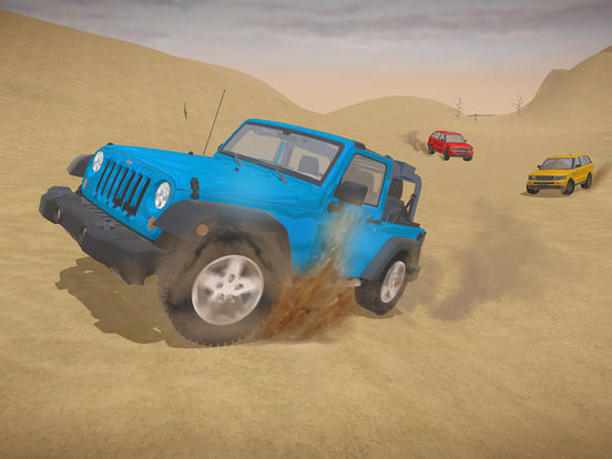 4X4 Offroad Jeep desert Safari - Driving 3D Sim screenshot #3