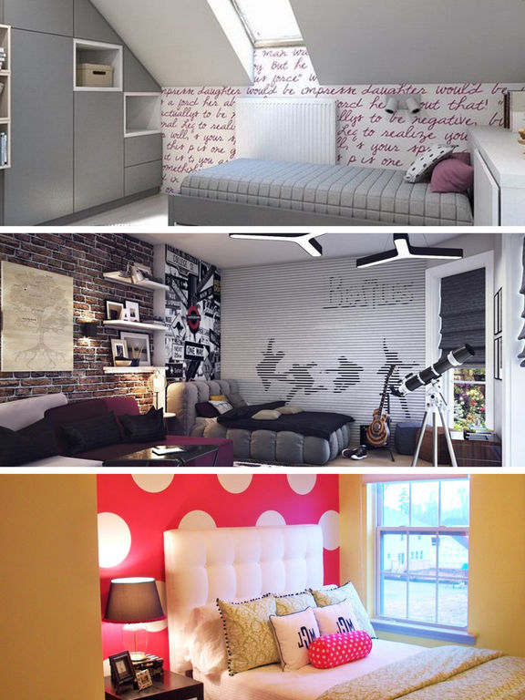 Teen Room Decor Ideas, Teenager Room Designs Plans screenshot 9