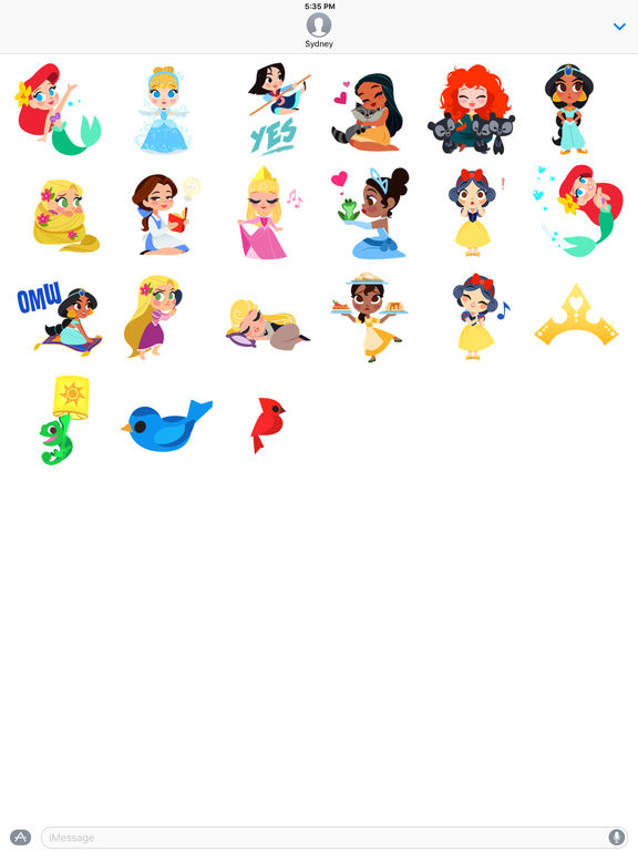 Disney Stickers: Princess screenshot 7