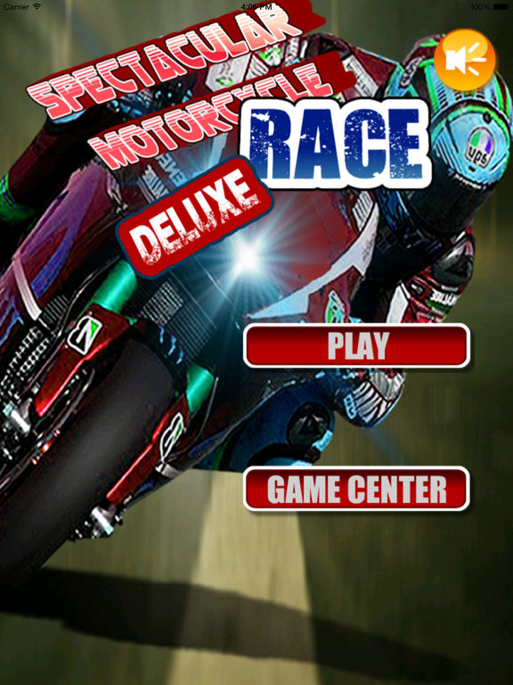 A Spectacular Motorcycle Race Deluxe - Speed Game screenshot 6