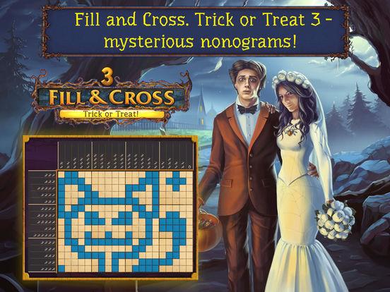 Fill and Cross. Trick or Treat 3! screenshot 6