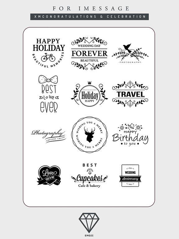 B&W Emoji Keyboard - Gift Sticker for Messenger screenshot 6