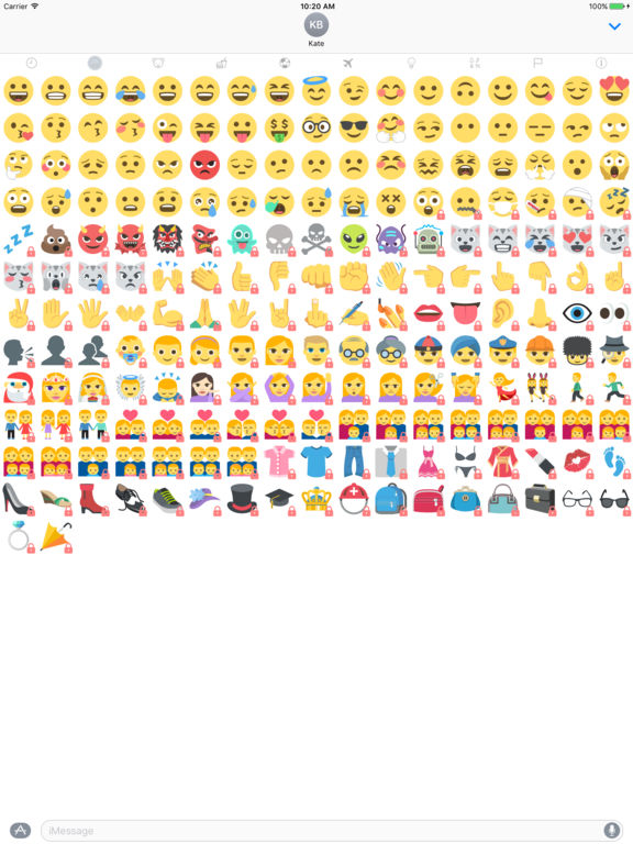 EmojiOne Stickers screenshot 7