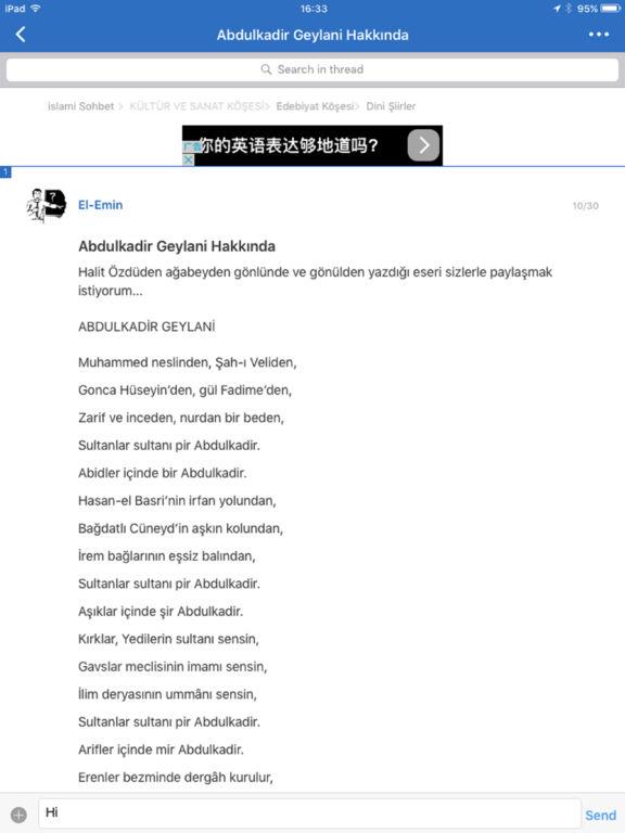 islami forum ve sohbet screenshot 5