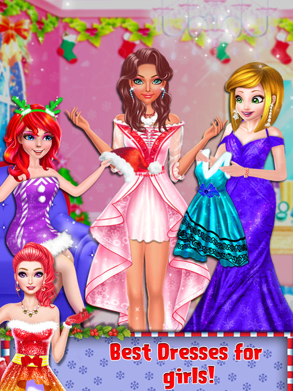 Christmas Prom Girl Salon screenshot 10