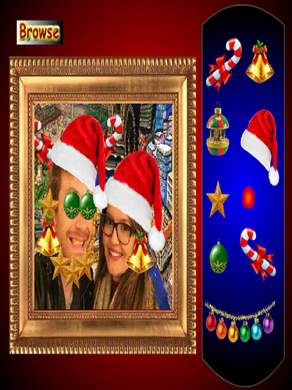 Family Christmas Photo Dress Up screenshot 3