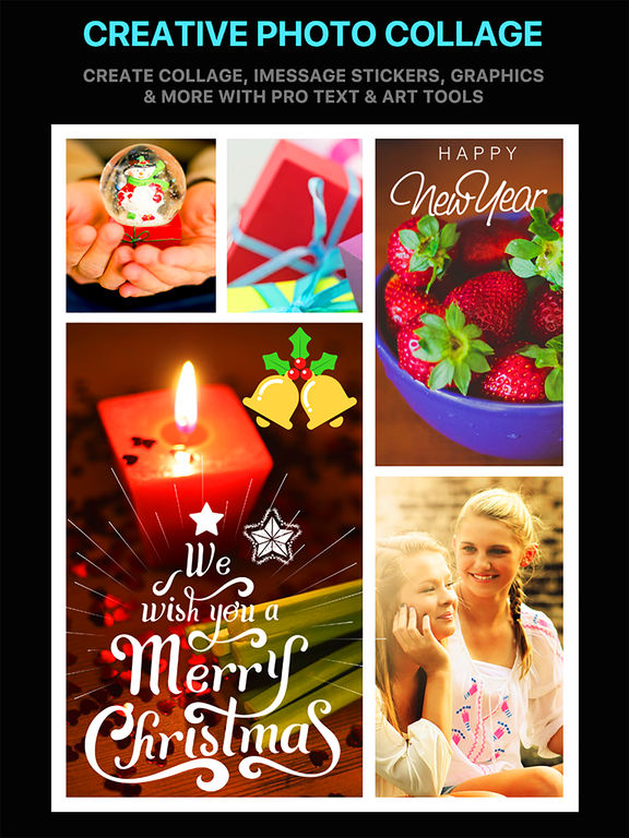 Emoji Collage Pro - Holiday Message Pic Stickers screenshot 6