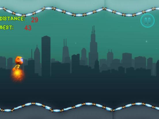 Jetpack Rocket Boy Racing Pro - air flying game screenshot 4