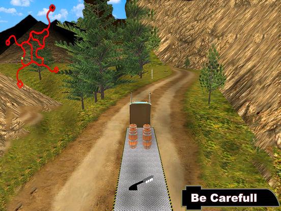 Offroad Truck Simulator : 3D Hill Climbing screenshot 6