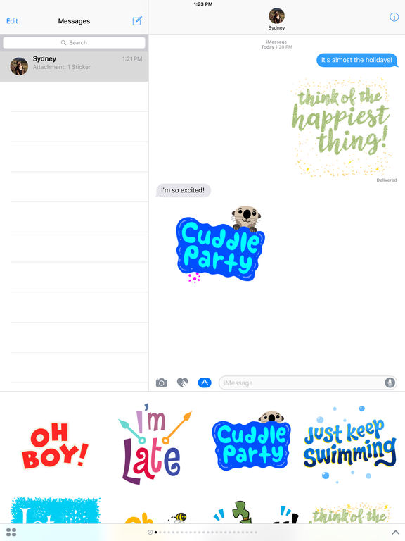 Disney Stickers: Quotes screenshot 6
