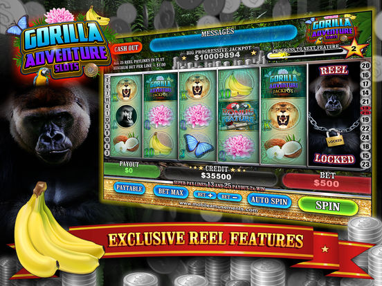 Gorilla Adventure Slots screenshot 9