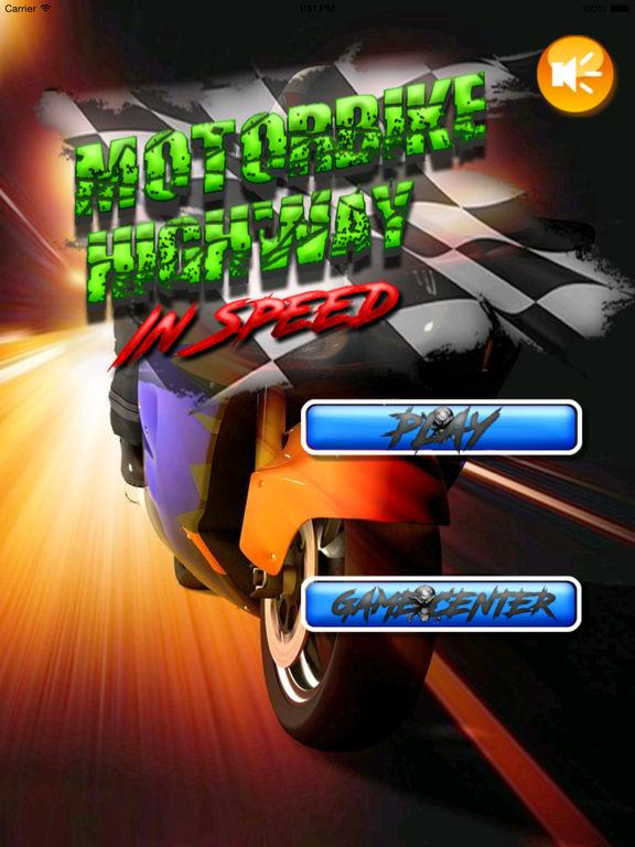 A Motorbike Highway In Speed - Powerful High Race Driving screenshot 6