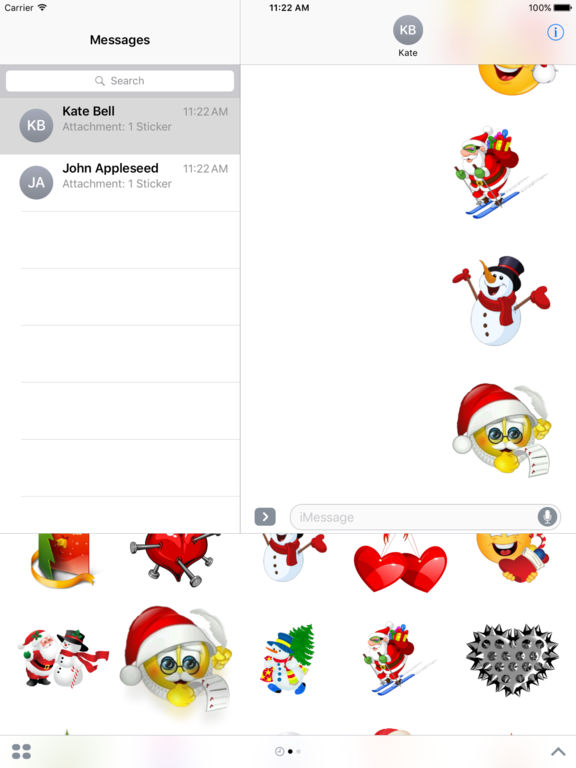 Stickers For Merry Christmas iMessage Edition screenshot 10