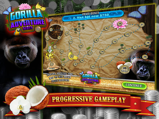 Gorilla Adventure Slots screenshot 10