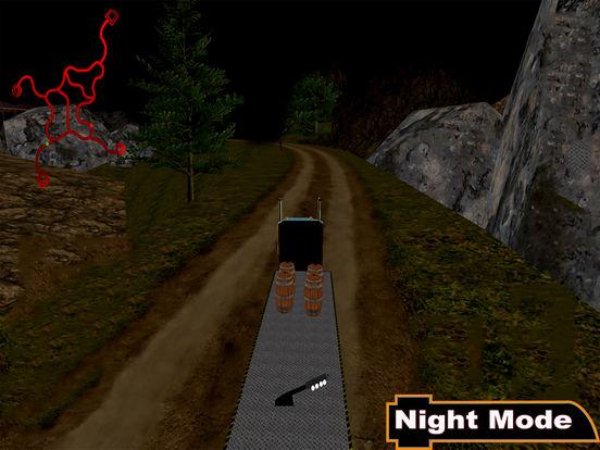 Offroad Truck Simulator : 3D Hill Climbing screenshot 5