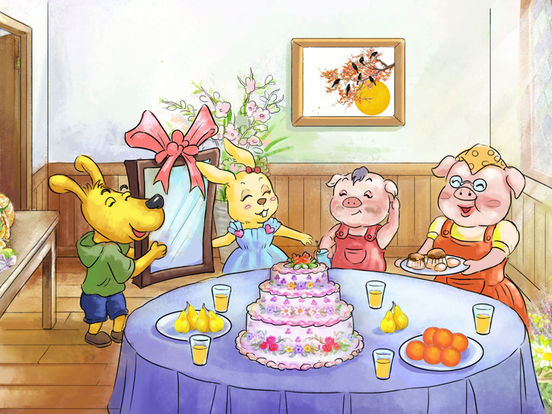 《小猪照镜子》经典绘本有声故事 screenshot 6