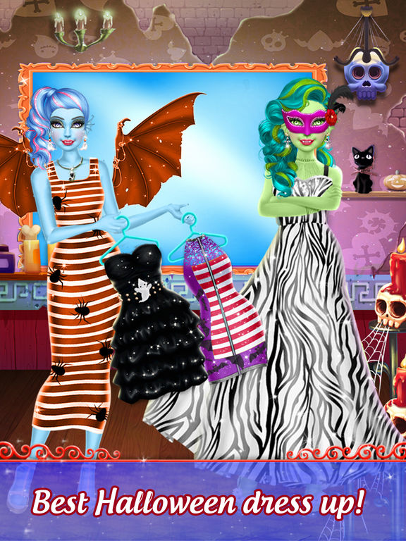 Pretty Halloween Girls Makeup screenshot 6
