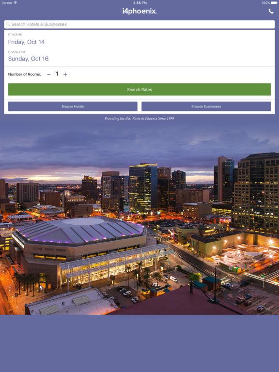 i4phoenix - Phoenix Hotels, Yellow Pages Directory screenshot 6