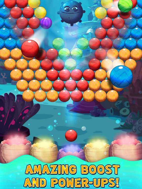 Bubble Shooter Underwater World screenshot 8
