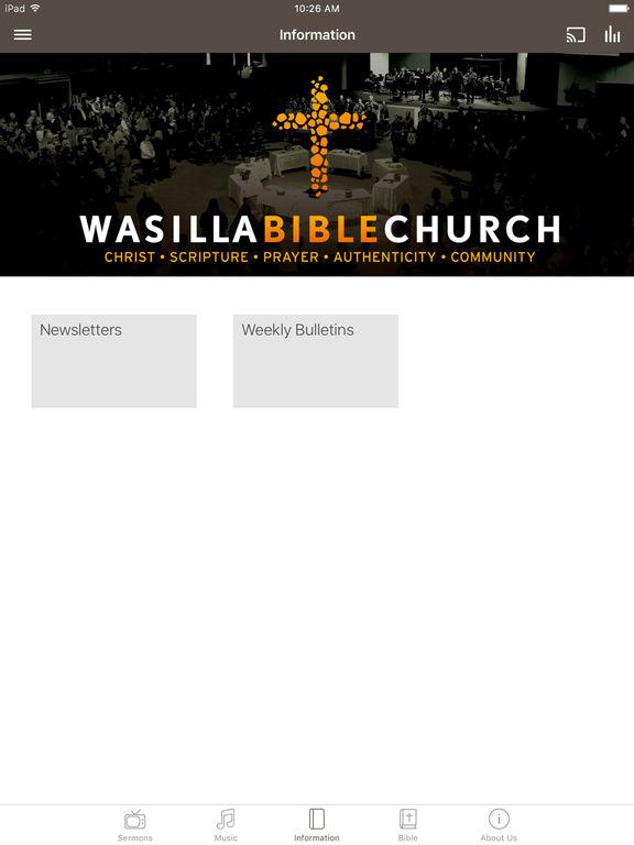 Wasilla Bible Church screenshot 5