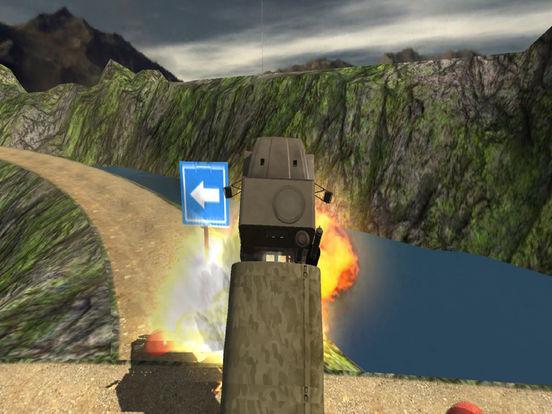 Commando Cargo Truck : 3D Deadly Track Ride screenshot 4