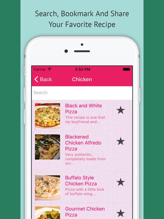 Pizza Recipes - Free Offline Recipes screenshot 6