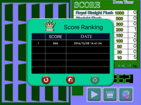 Poker Solitaire Card Game2 screenshot 5