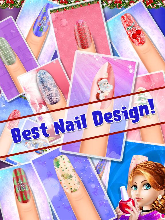 My Crazy Christmas Nail Art screenshot 8