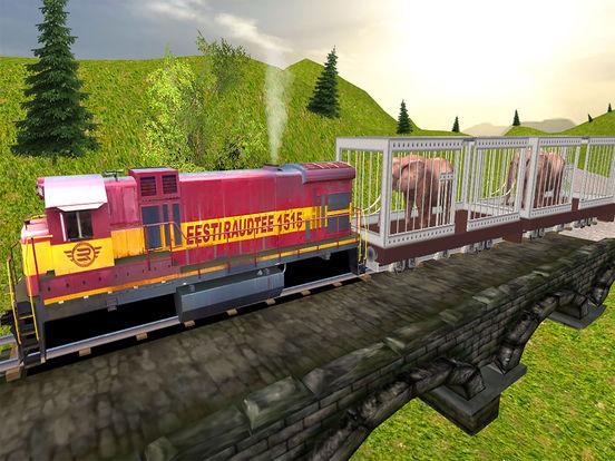 Animal Cargo Transport Train screenshot 5