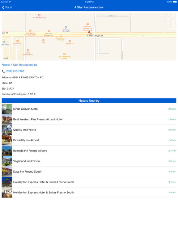 i4fresno - Fresno Hotels & Yellow Pages screenshot 9