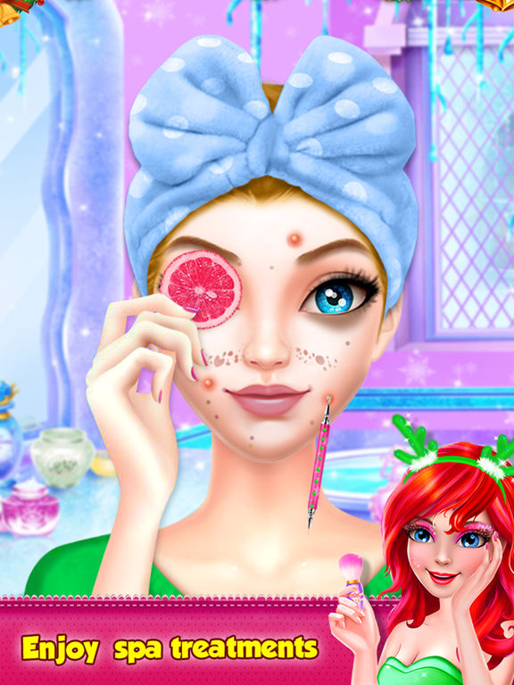 Christmas Girl Spa Makeup screenshot 9