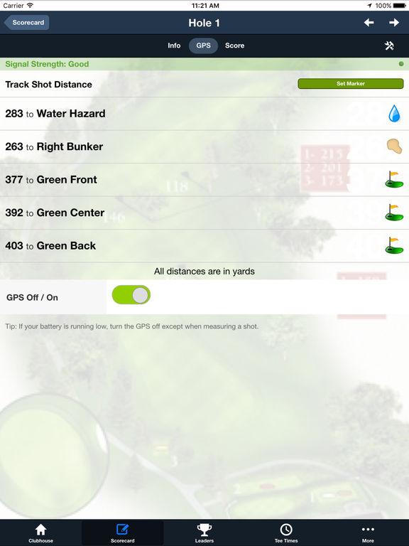 Woods Fort GC screenshot 6