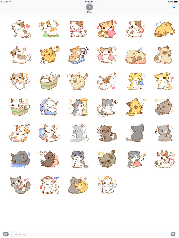 Stickers Of Naughty Cats screenshot 4