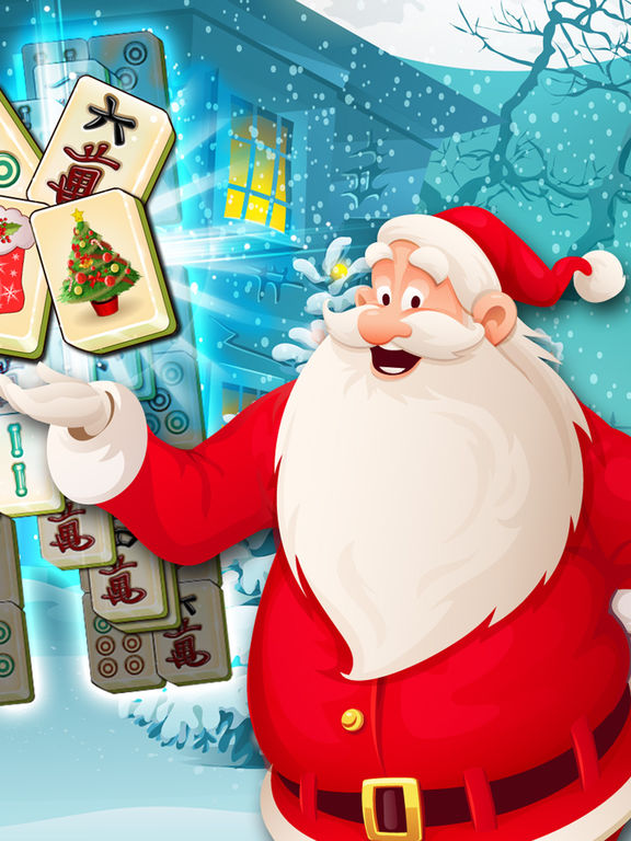 Holiday Mahjong 3D - Magic Christmas Puzzle Deluxe screenshot 7
