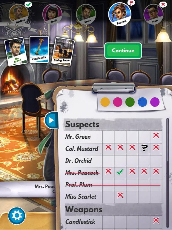Clue: The Classic Mystery Game screenshot 8