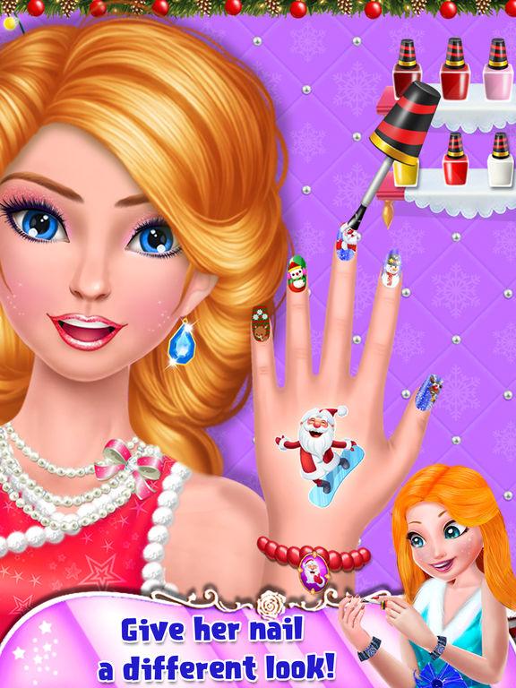 My Crazy Christmas Nail Art screenshot 6